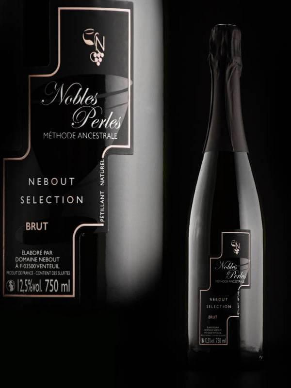 02 Blc Demi Sec Nobles Perles Domaine Nebout Vins Saint pourcain Allier Auvergne