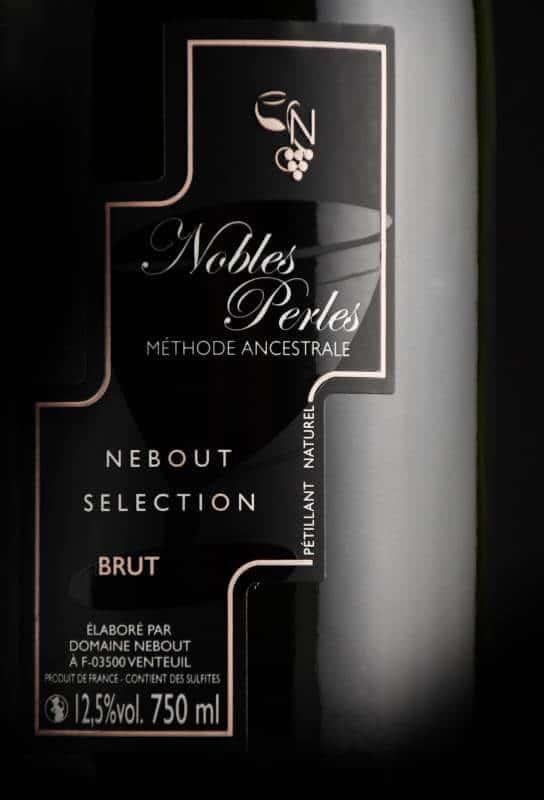 03 Blc Demi Sec Nobles Perles Domaine Nebout Vins Saint pourcain Allier Auvergne
