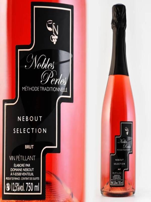 05 Rose Nobles Perles Domaine Nebout Vins Saint pourcain Allier Auvergne