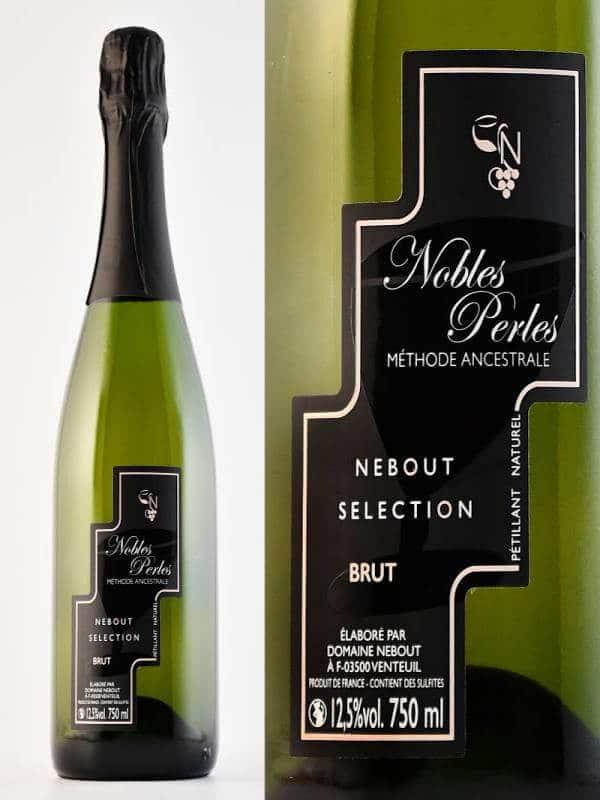 06 Blc Demi Sec Nobles Perles Domaine Nebout Vins Saint pourcain Allier Auvergne