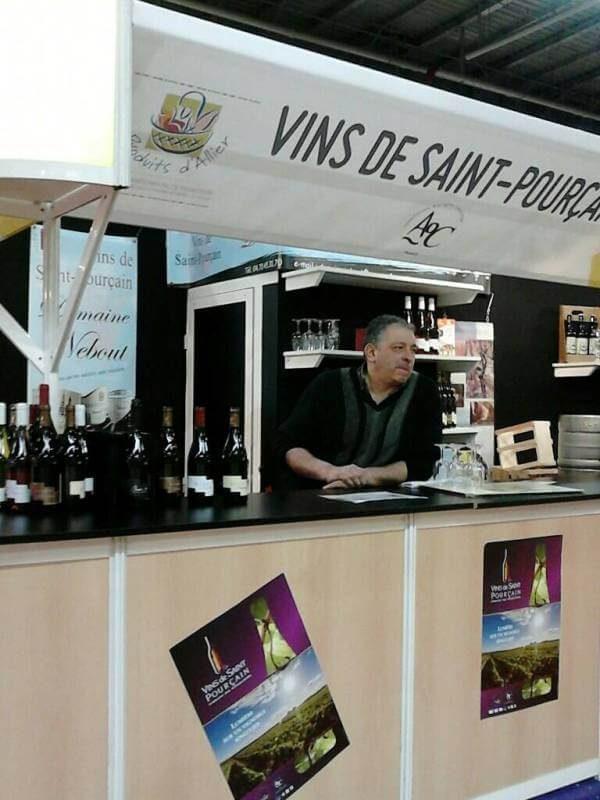03 Salons Domaine Nebout Vins Saint pourcain Allier Auvergne
